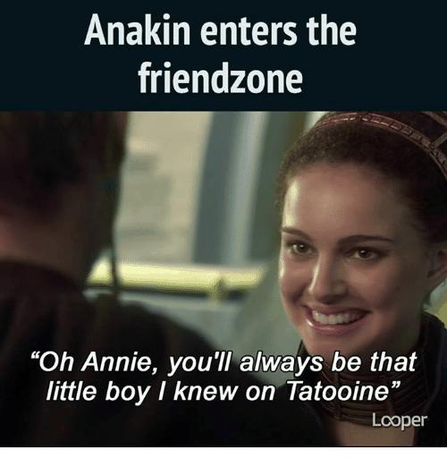 anakin mem friendzone