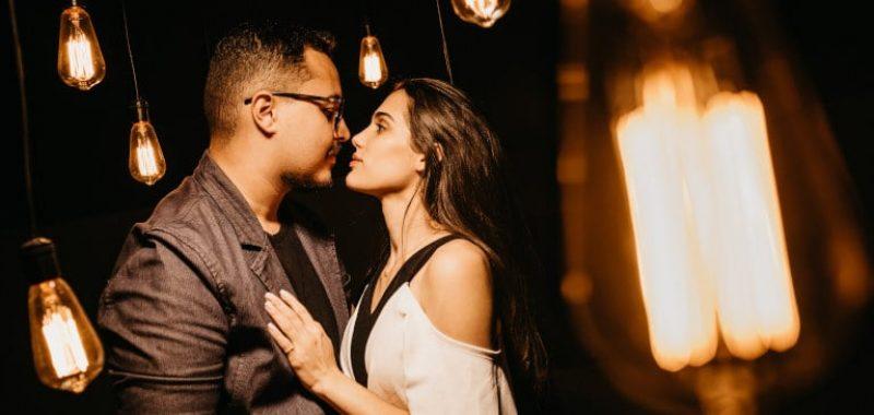 randka romantyczne lampki